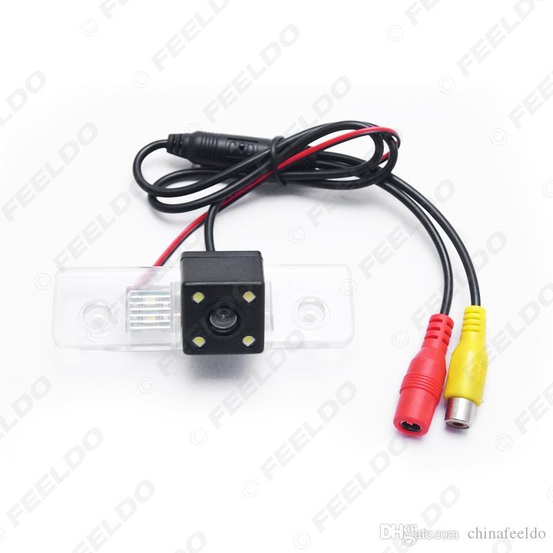 Special Rear View Car Reverse Backup Camera With LED light For Skoda Octavia Mk2(1Z)(2004-2012) #4061
