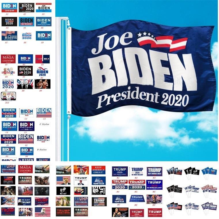 Party EUA bandeira bandeiras Donald Trump VS Joe Biden glags para o presidente 2020 Trump Mantenha América Ótimo para flag presidente do partido bandeira 6104