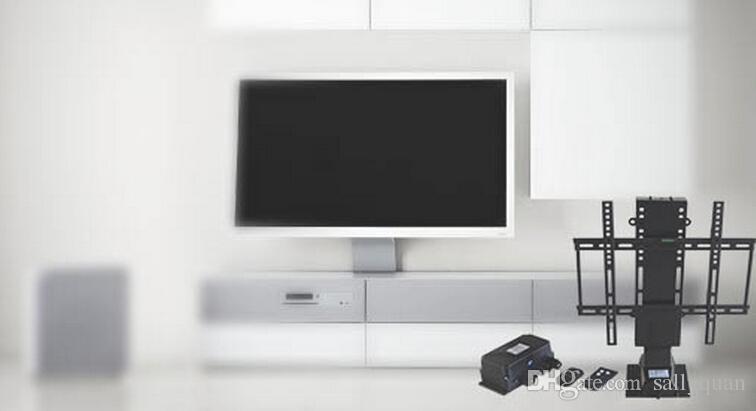 Электрические автоматические TV Lift полки с пультом дистанционного управления для гостиничного дома мебель для кровати подходит для 25-50-дюймового плазменного телевизора кронштейн