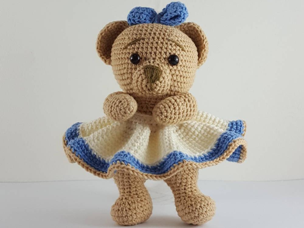Amigurumi Doll Body Pattern, Crochet Mini Amigurumi Doll, Little ... | 750x1000