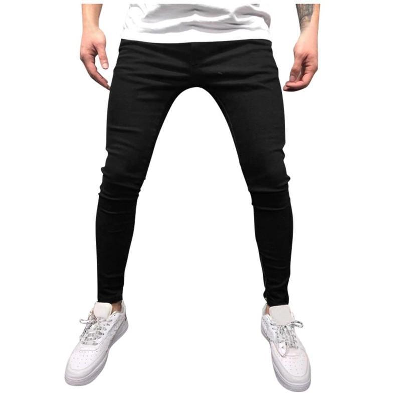 Erkek pantolon kot gevşek ilkbahar sonbahar streç fit denim pantolon marka moda satış jean jacosin 2021