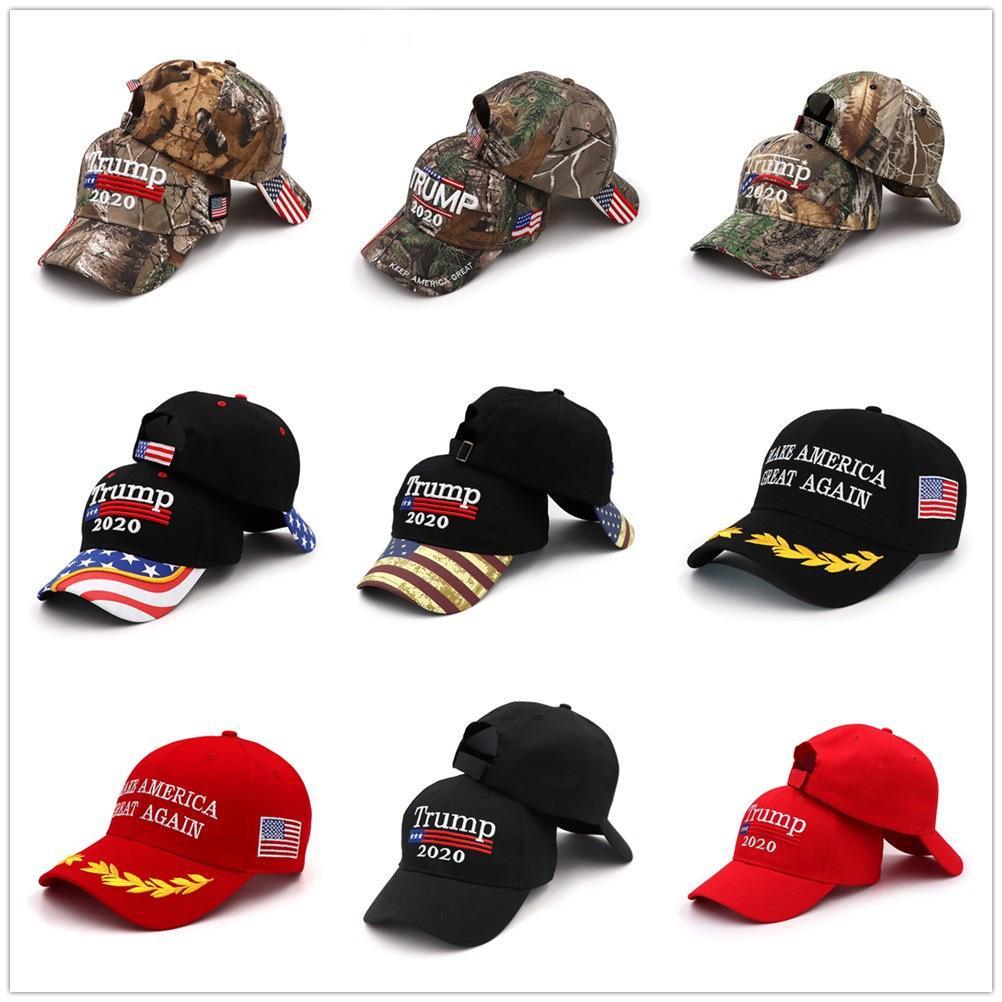 Президент Дональд Трамп Hat 2020 Keep Make America Great снова Флаг Maga папа Красный Бейсболка Мужчины Женщины Gorros Snapback Hat