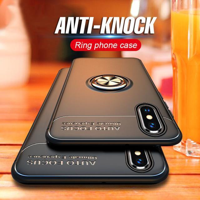 PC einer Fallkollisionsvermeidung Unterstützung von magnetischem Metallring TP Telefonbuchse Software für iPhone XR X S Max 8 + 66 7