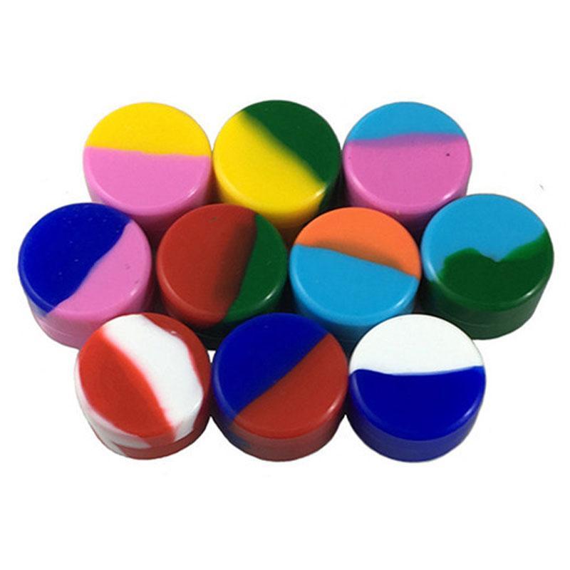 Custodia in silicone 5ml Mini pillola stoccaggio cosmetici Organizzatore compresse dispenser Medicina Box Esterni portatile silicone Scatole BH2882 TQQ