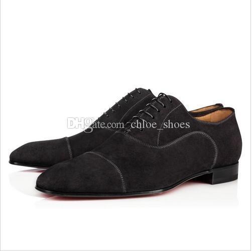 Marca Vermelho Bottoms Dandelion Flats Chaussure Femme Mens Sapatos De Negócios Formais Vestido Mocassins Sapatos Tamanho 46