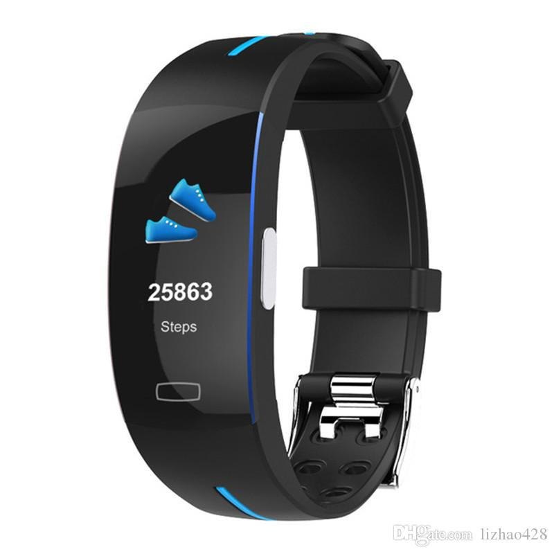 Fitness Tracker HR, Activity Tracker Watch with Heart Rate Monitor, Waterproof Smart Bracelet with Step Counter, Calorie Counter, Pedometer
