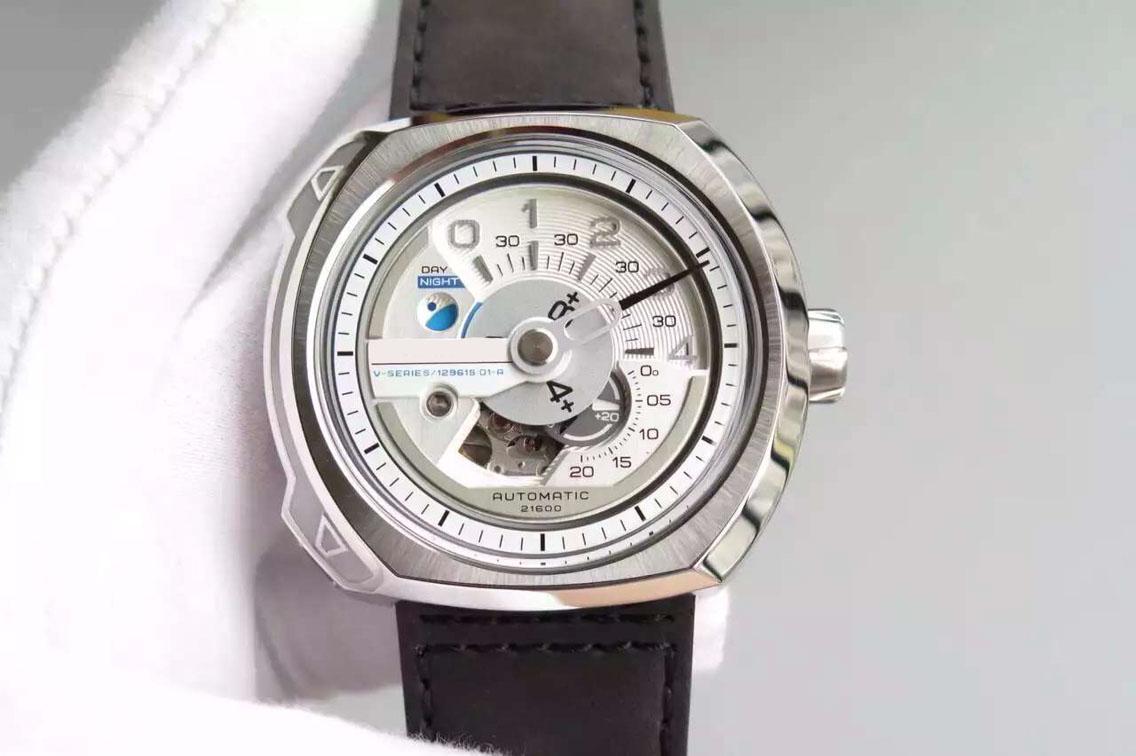 XF. Os novos detalhes V2, o 82S7 movimento automático original, não pode escorrer. Alto grau de invólucro relógio dos homens impermeáveis perfeitos