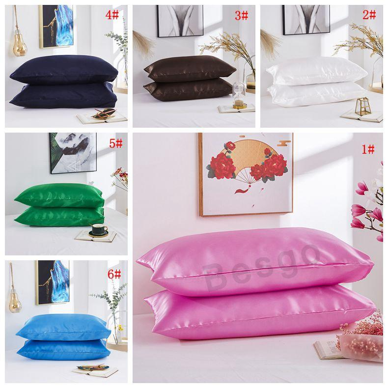 20 * 26 pulgadas de seda almohada de seda de seda de la almohada de la funda de la almohada de la funda de la almohada de la funda de la cara de la cara de la cara de la cara de la cara de la cara de la cara de la cara