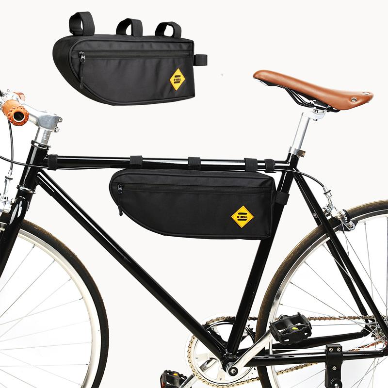 Accessories Frame Bag Holder Front Rear Saddle Cycling Triangle Durable