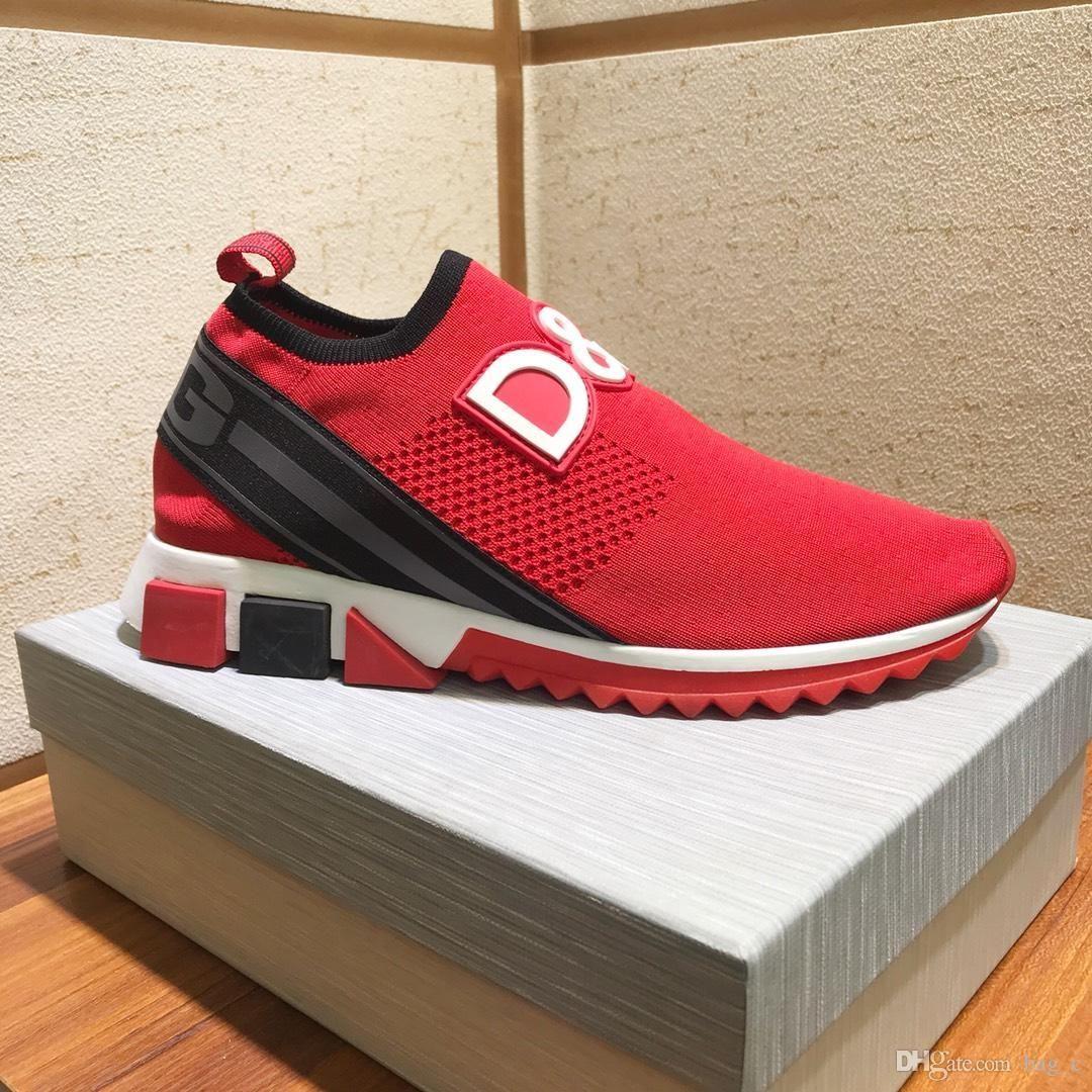 zapatos 2019m edición limitada de la moda de los hombres ocasionales de cuero, zapatos de marca salvajes deportes al aire libre de los hombres de gama alta, envases caja original