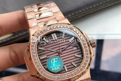 Relógios mecânicos de luxo nautilus para homens f versão hotsale 40mm qualidade superior 324 relógios automáticos de homens 5711 diamante sapphire relógios de pulso