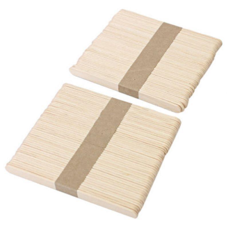 100x يمكن التخلص منها الصبح خشبية اللسان المانع الجسم إزالة الشعر عصا اللسان المانع