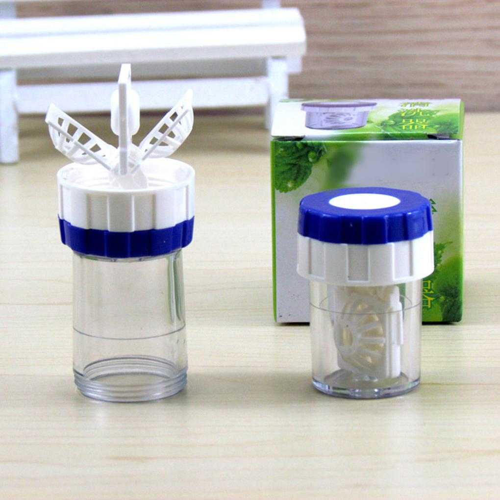 Neue Art manuell ein Plastikkontaktlinsen-Reiniger-Waschmaschinen-Reinigungslinsen-Fall-Werkzeug