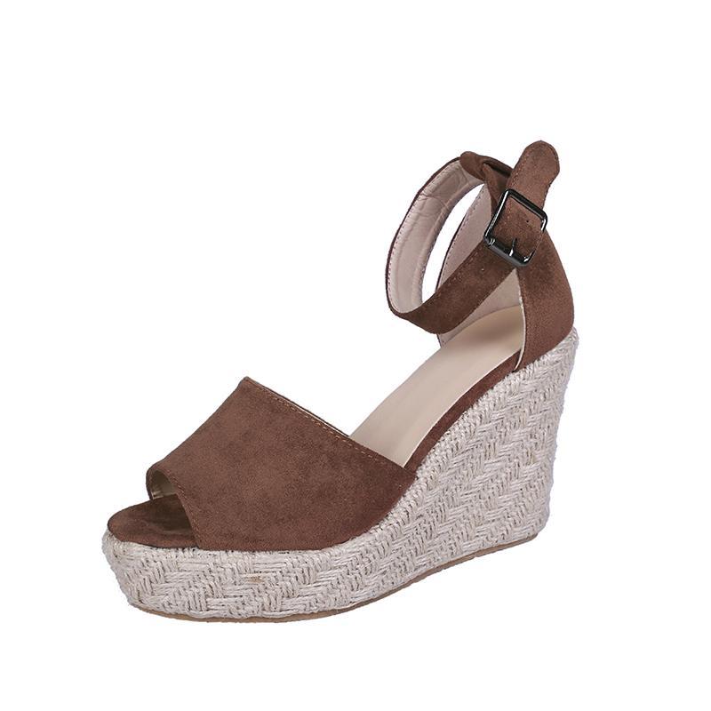 2020 Summer Wedges Pumps Sandals Women