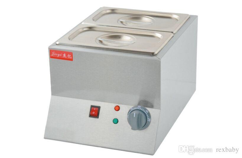 machine à chocolat fondu de haute qualité, prix électrique de réchauffeur de chocolat, creuset à chocolat commercial à vendre