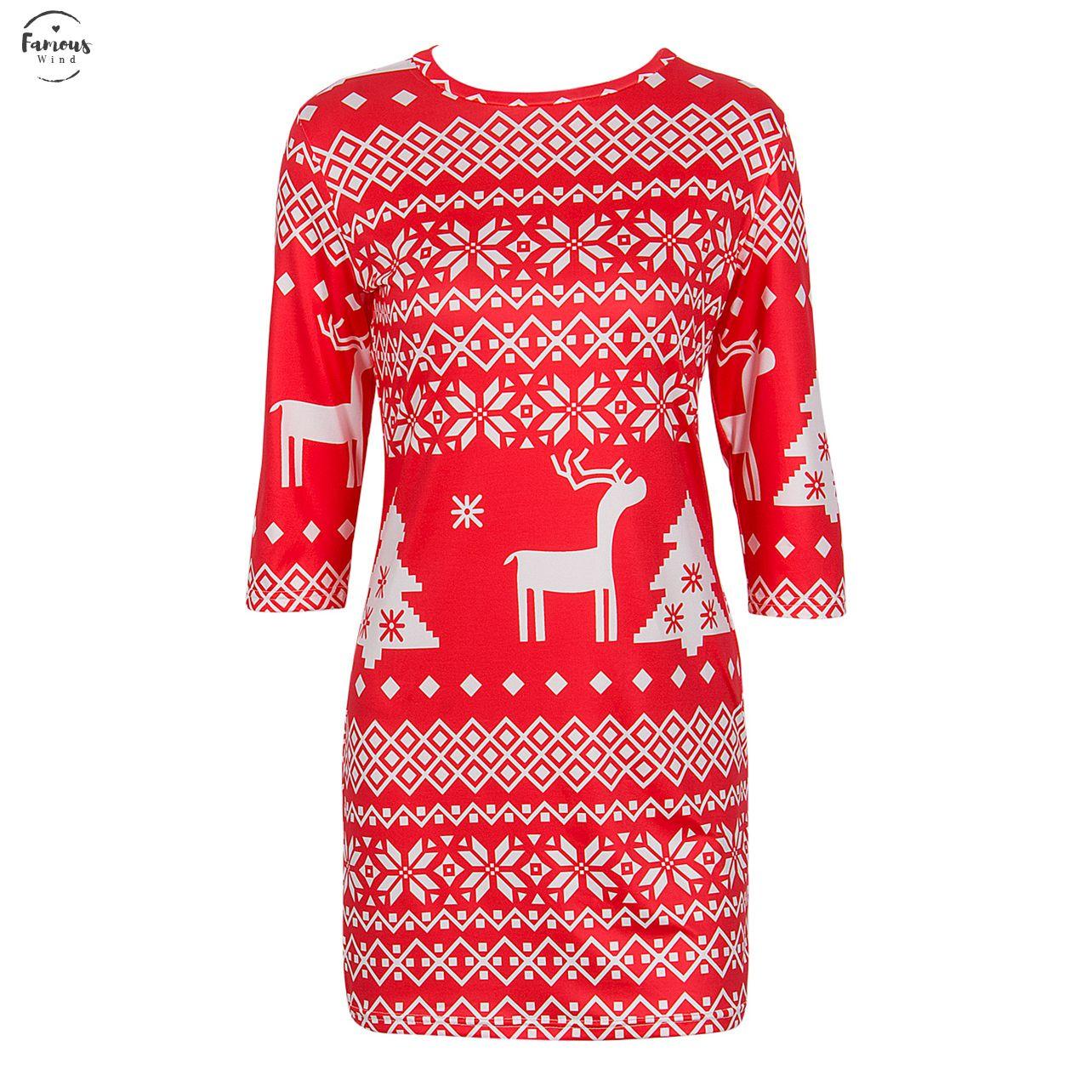 نساء شتاء خريفيات جذابات يلبسن ملابس Bodycon Slim Fashion Party Mini Dress Women Christmas Clothes S L Xl Xxl