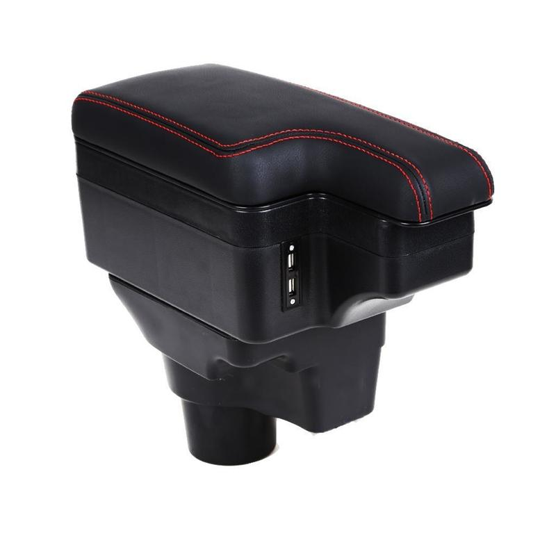 Automovil protector Interior Arm Rest Car Car-styling Styling Automobiles Modification Mouldings Parts Armrest Box 17 FOR Kia K2