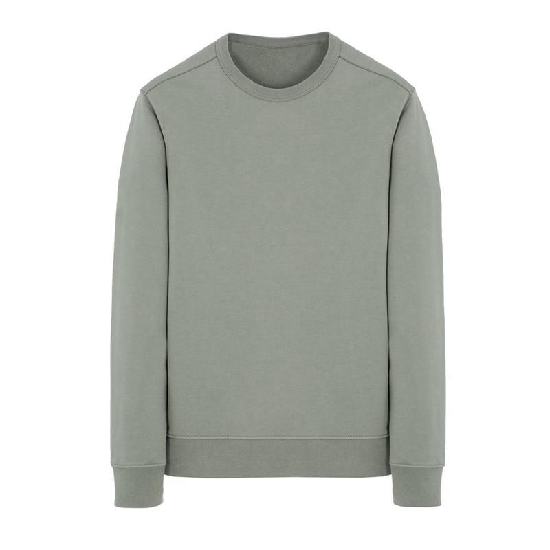 19SS 62751 Crewneck Sweatshirt Langarm-T-Shirt einfache feste Sweatshirt Mode-Pullover-Strickjacke Sportwear Straßen HFLSWY293