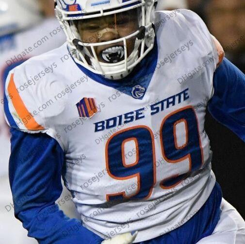 2021 NCAA Boise State Broncos #1 Cedrick Wilson Jr. 4 Brett Rypien ...