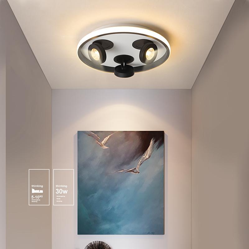 Moderne LED-Deckenleuchten für Gang Balkon Korridor minimalistischem kreative Garderobe Foyer Heimnetzwerk Treppe Veranda Leuchte Decken