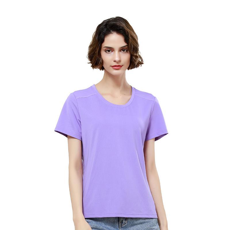 Beaume Camping Caminhadas Mulheres Camisetas Sports respirável Moda camisetas FEB92144