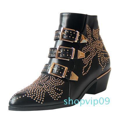(Com caixa) botas de luxo designer de salto alto de alta sapatos de couro das mulheres das mulheres high-end superior 35-40 sapatos da moda