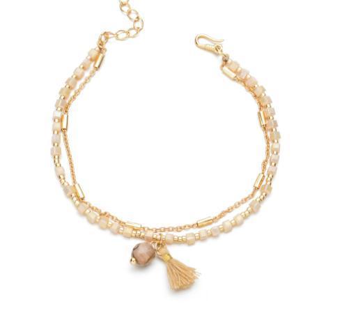 Braccialetto di amicizia del braccialetto dei monili Boemia regolabile 2020 Slim quadrato sveglio cristallo borda glass Bracciale Donne colorate