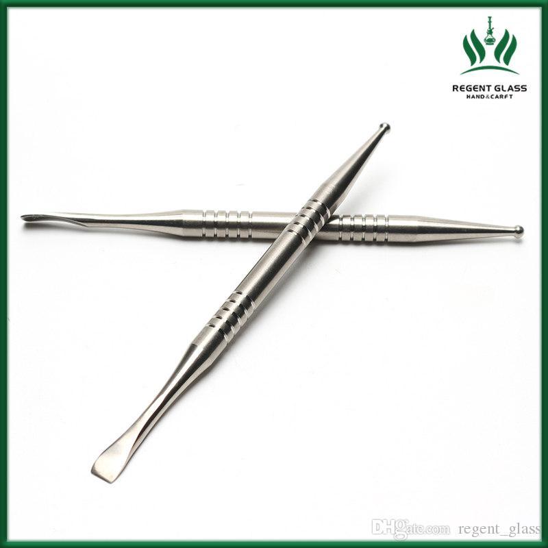 1pcs 4.2inch Wachs dabber Werkzeug VAX Titanium dab Werkzeug Earpick Titan nail dabber Werkzeug für Bohranlagen Glasrohre bongs dab