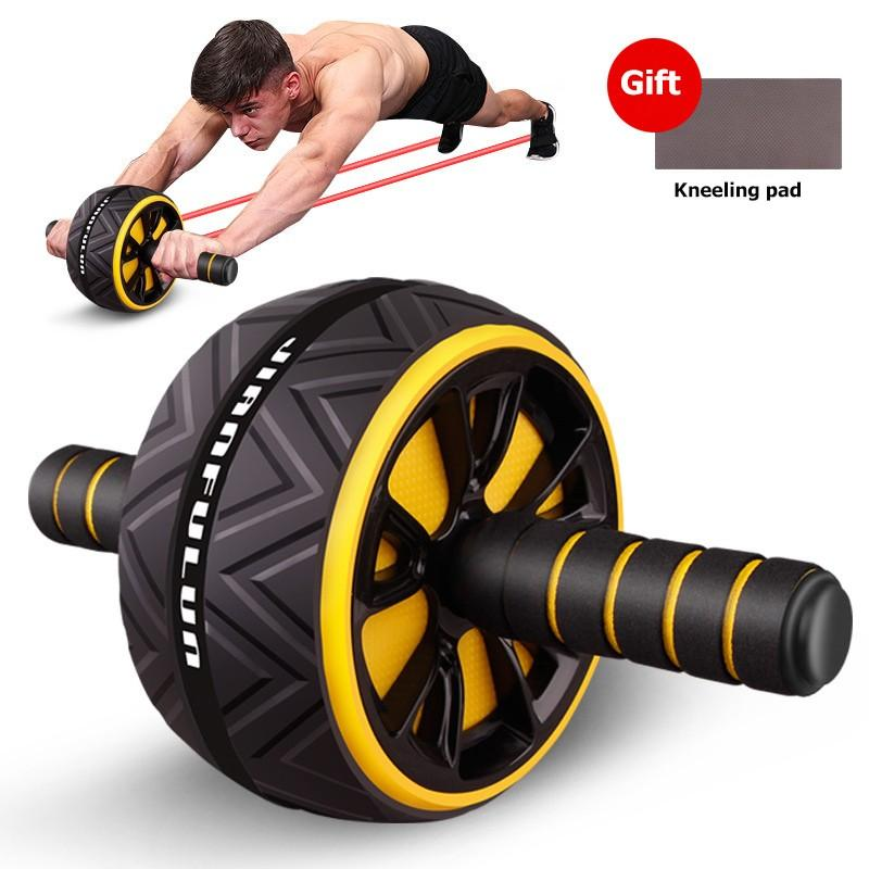 Training Equipment Abdominal Muscle Device Exercise Fitness Ab Wheel Trainer Abdominales Machine Abs Workout