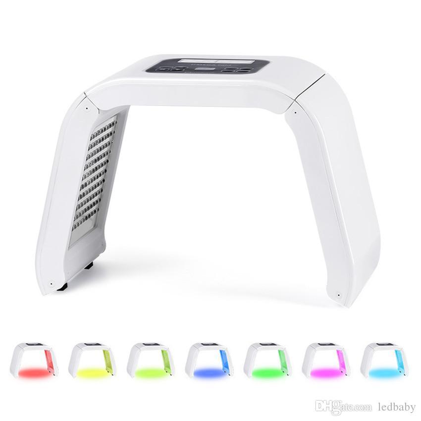 أفضل بيع 7 اللون pdt led قناع الوجه pdt ضوء للبشرة آلة الجمال العلاج للوجه الجلد تجديد صالون تجميل المعدات