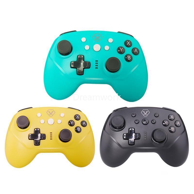 600mAh Kablosuz-Bluetooth Gamepad için Nintend tipi c kablosu, Bluetooth Gamepad ile Pro NS-Anahtarı Pro Oyun Joystick Konsolu Anahtar