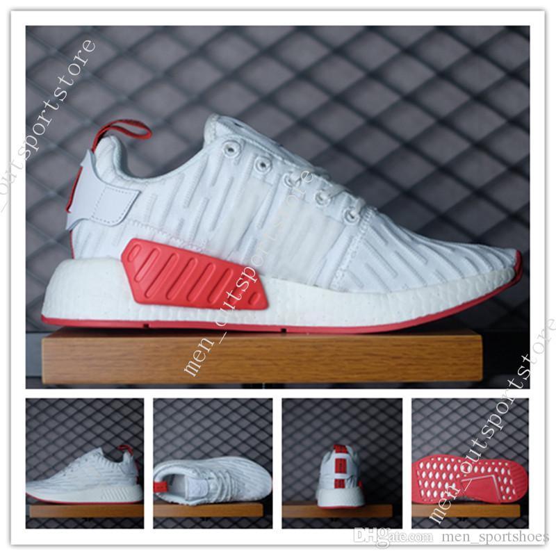 2018 MMD R2 PK Primeknit Кроссовки Высокое Качество Мужчины Женщины MMD RUNNER PK Boost носки Тренировочные кроссовки Спортивная обувь R 2 Ultra Boost shoes
