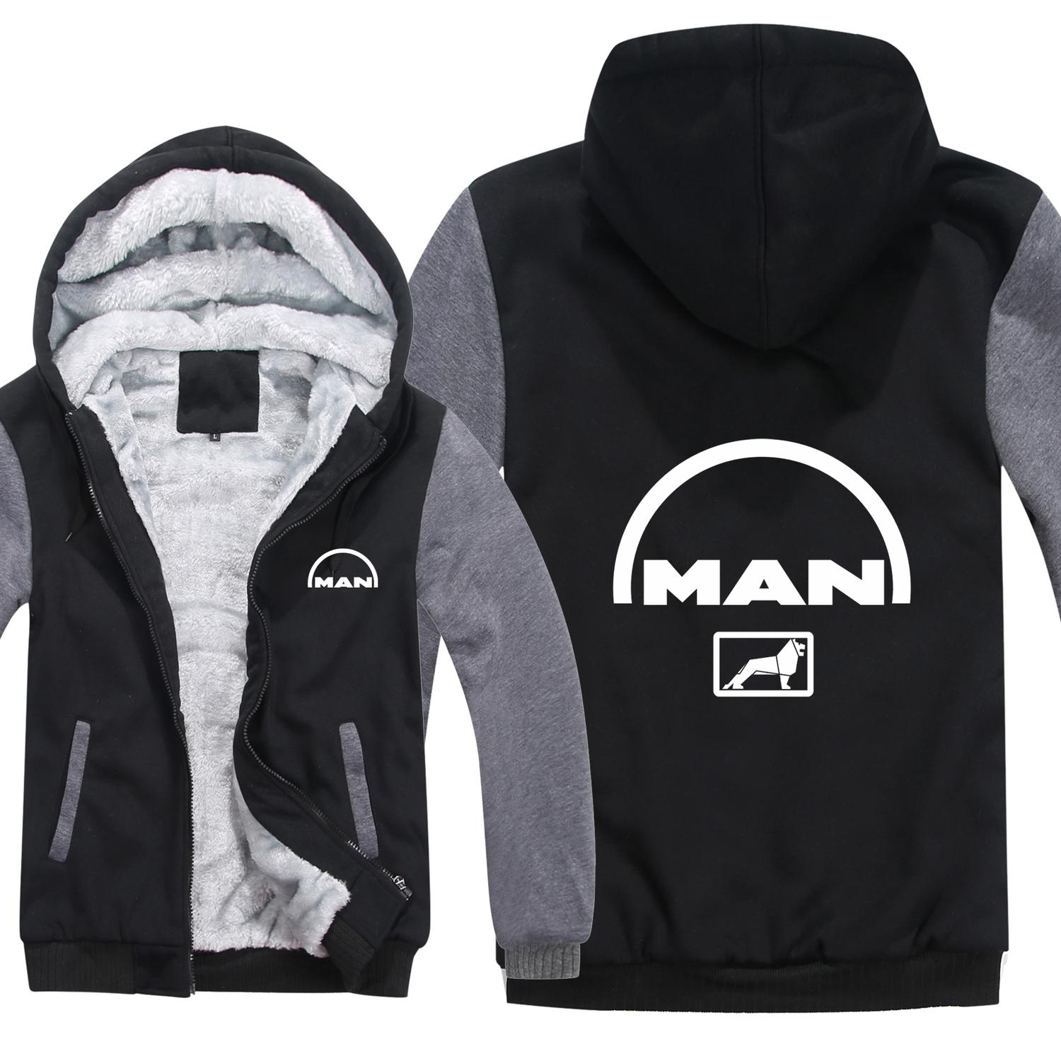 MAN Truck Hoodies Men Fashion Coat Pullover Wool Liner Jacket MAN Truck Sweatshirts Hoody HS-012 T200103