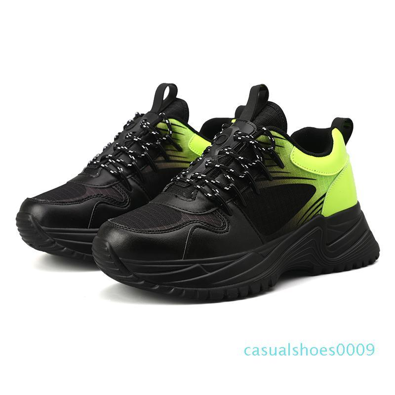 Moda 2020 Lüks Sneakers Erkek Triple-ler Tasarımcı ayakkabı erkekler Flatform Ayakkabı Moda Trainer Casual Sneaker C09 Pulse Run Away