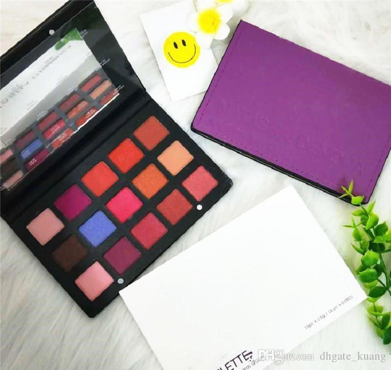 Nueva llegada Na tasha Denona maquillaje paleta de sombra de ojos cosméticos Tropic la gama de colores de resaltado para niñas de 15 colores envío