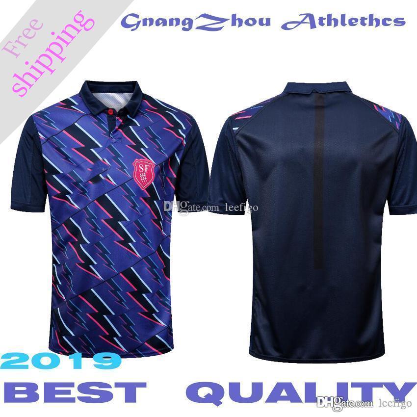 2019 Stade Francais Jersey de rugby local National Rugby League Stade Francais Paris Royal blue jerseys talla S-3XL