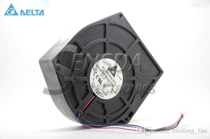 Delta BFB1612H -SE49 DC 12V 2.15A 159x165x40mm 3-wire powerful dc blower
