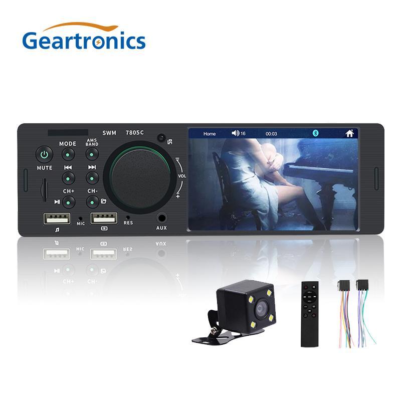 Autoradio-Spieler 1Din Autos 4.1inch HD Screen-FM USB-Bluetooth-Freisprecheinrichtung Anruf Lade 7 Farben Licht Stereo Autoradio