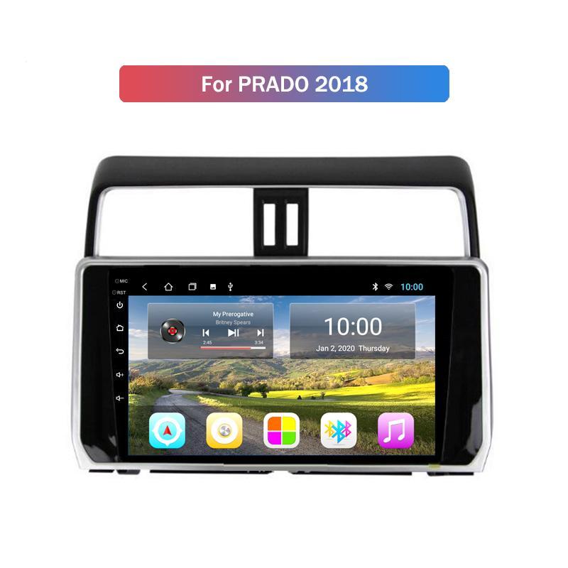 2G RAM for Toyota PRADO 2018 Car Android 10 Head Unit Stereo Audio GPS Navigator Multimedia Radio Player