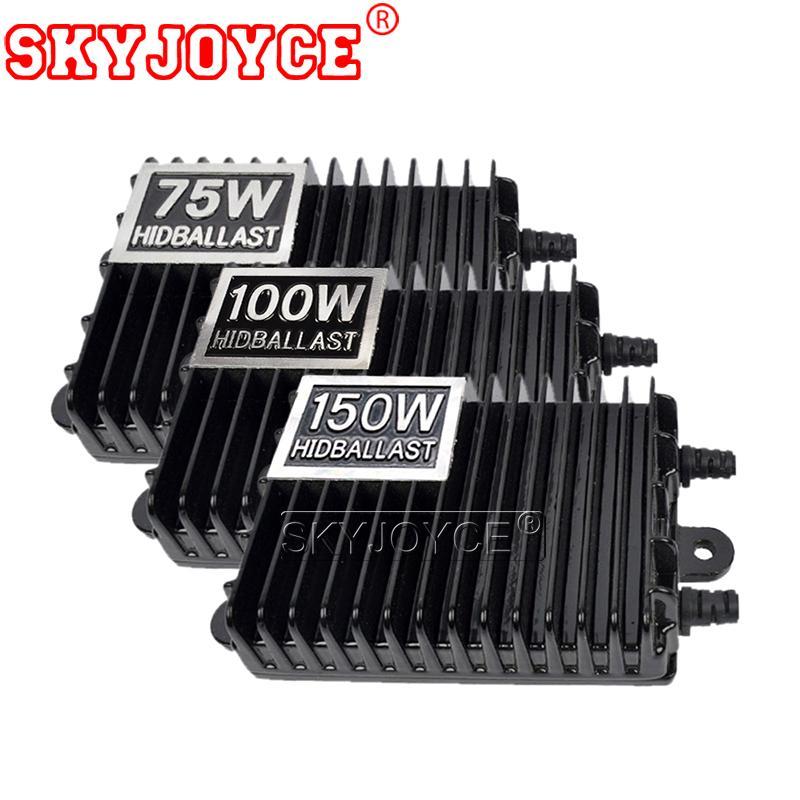 SKYJOYCE 12V 75W 100W 150W AC Цифровые электронные балластные блоки для Ксенон лампы H1 H3 H7 H11 9005 9006 HID Xenon Bulb