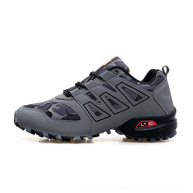 à prova de explosão-Men Luminous Sneakers Chaos Casual Tamanho Grande exterior sapatos antiderrapantes off-road Sports Shoes