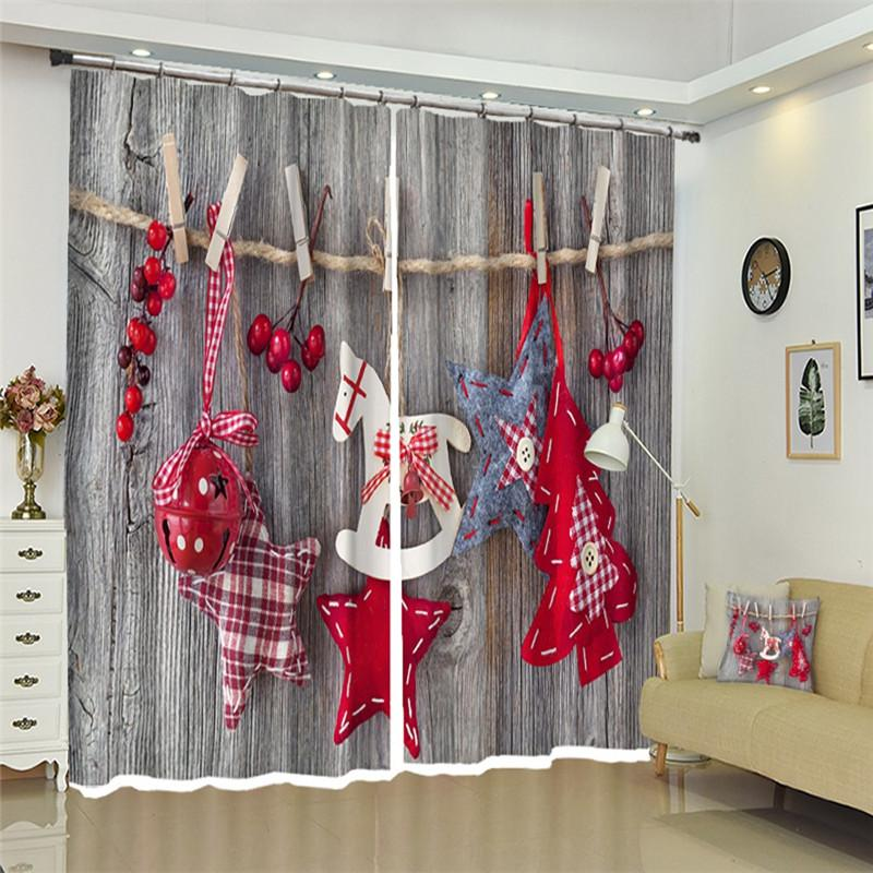 2020 Christmas Curtains Living Room Childrens Bedroom Curtains 3d Home Decor Grey Wall Drape Curtain Drapes Rideaux From Homegarden 38 98 Dhgate Com