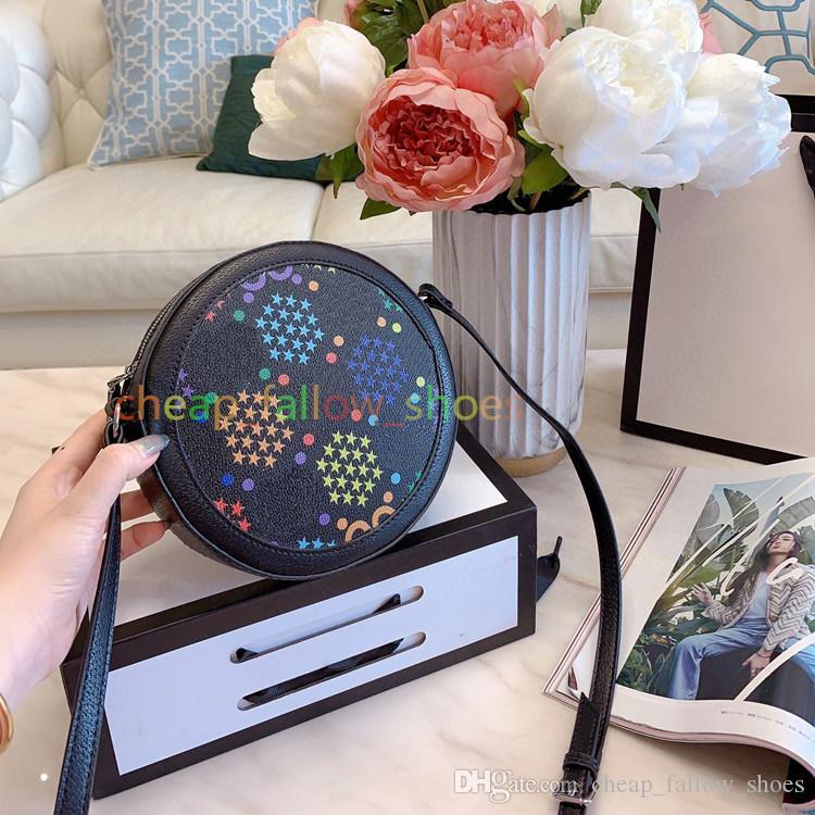 Yeni son tasarımcı lüks çanta cüzdan yüksek kaliteli kadın omuz çantası Crossbody çantası sihirli atlama şeker yuvarlak çanta ücretsiz gönderim