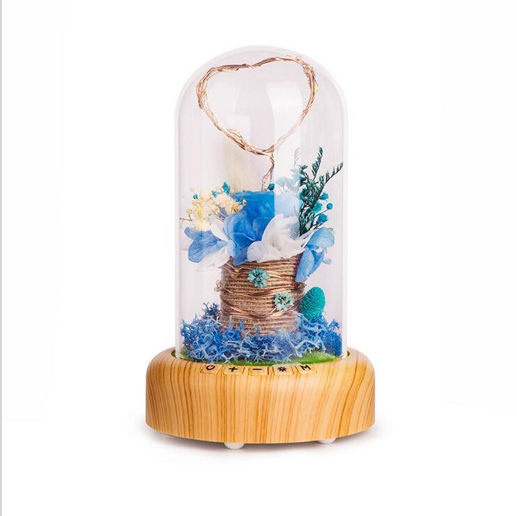 Ich wünsche Streamer Flasche Dekoration Lampe, um Freunde zu senden Liebhaber Geschenk Bluetooth Stereo Nachtlicht
