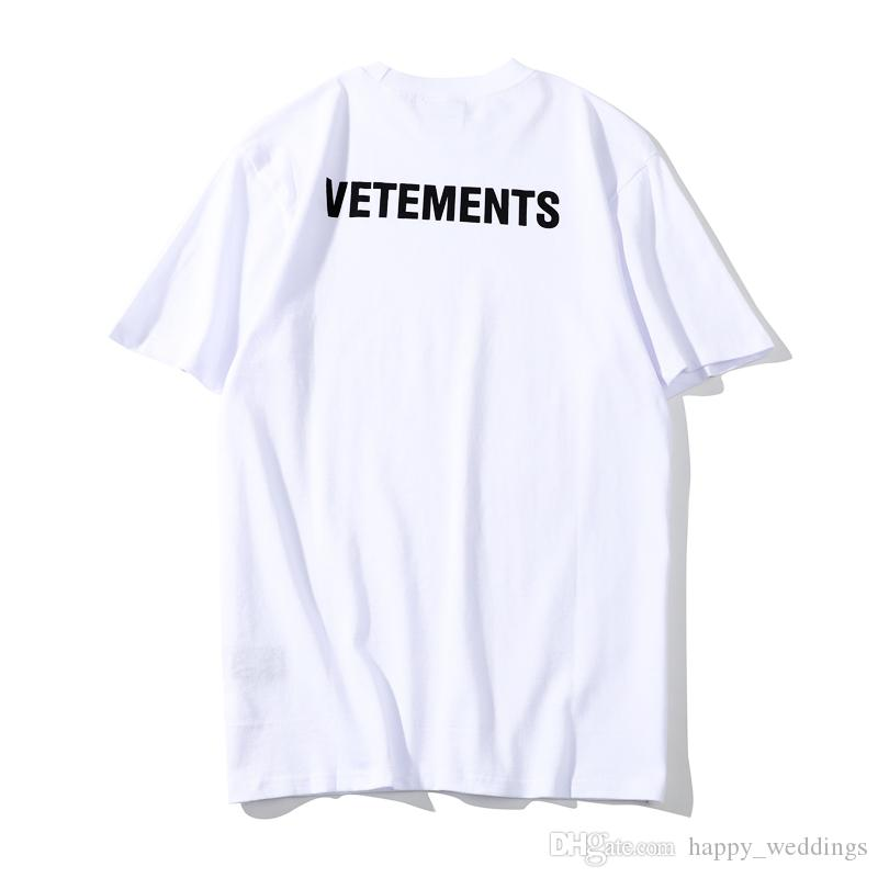 Acheter Vetements T Shirt Hommes Femmes Streetwear