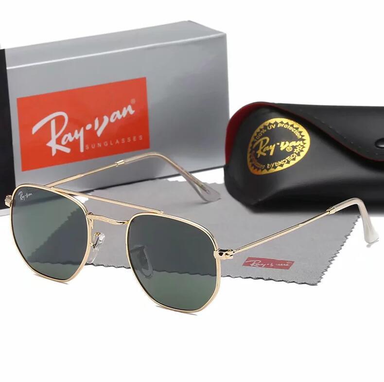 نظارات شمسية رائعة في الهواء الطلق للرجال والنساء الكلاسيكية طراز 3648 نظارات شمس شاطئية
