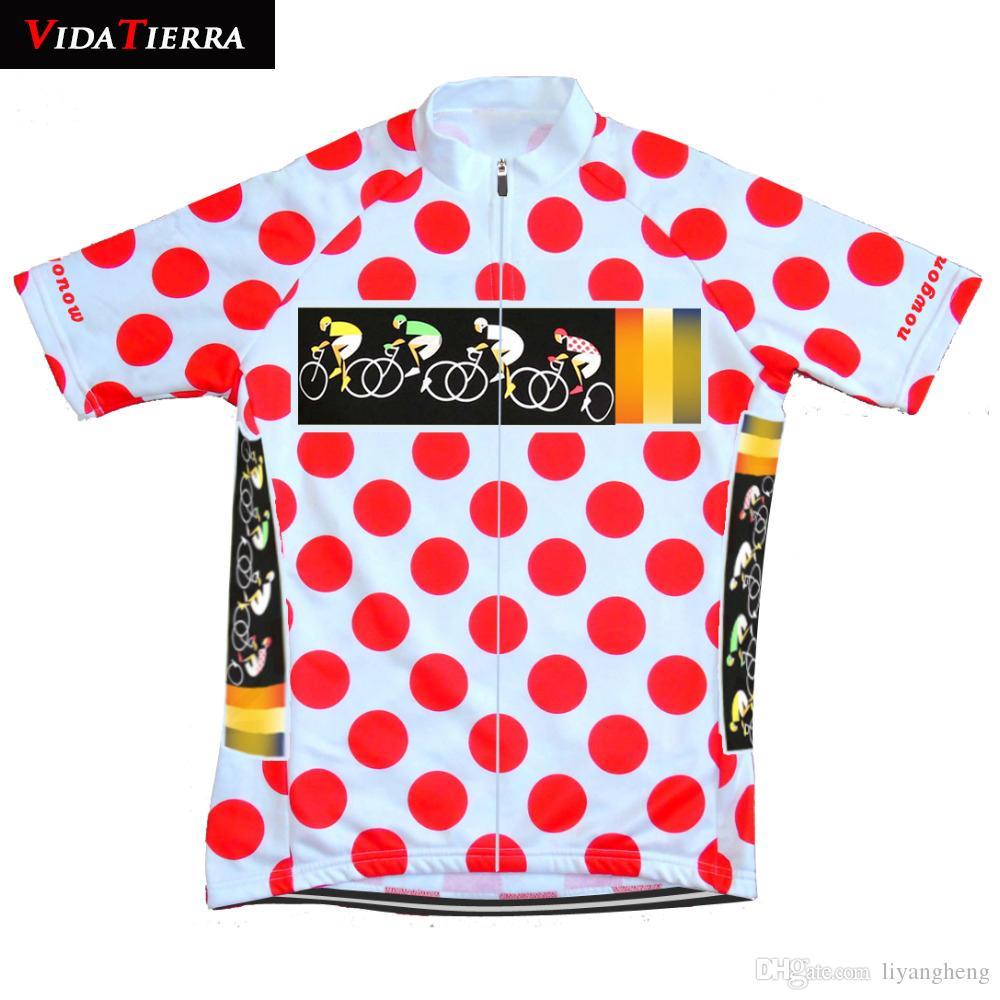 VIDATIERRA 2019 Escalada ciclismo jersey ciclismo ropa equipo de carreras profesional desgaste desgaste de la bicicleta equipo tops bicicleta camisa carretera clásico Deportes al aire libre fresco