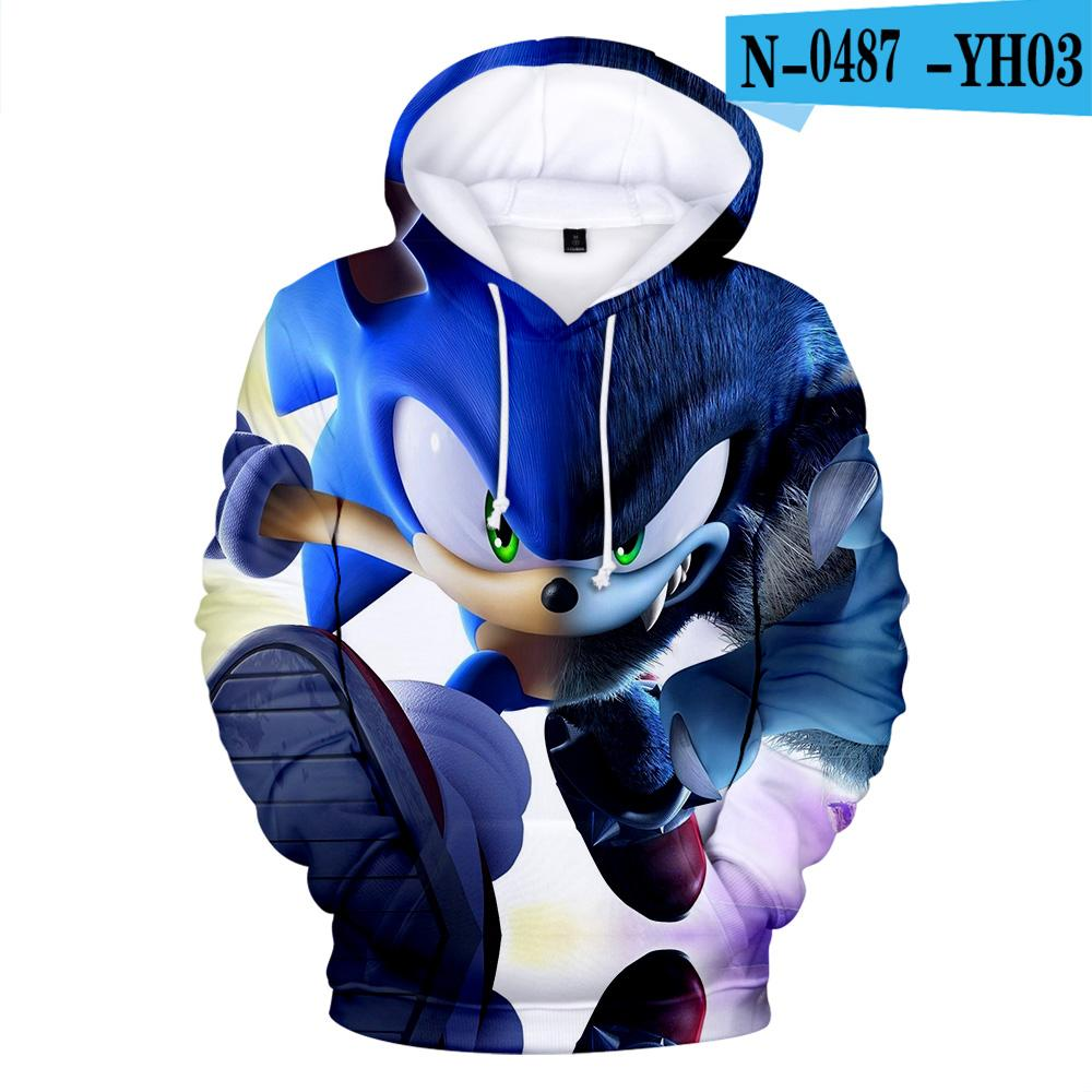 2020 Hot Sale Sonic The Hedgehog 3d Print Hoodies Sweatshirt In Children Autumn Warm Casual Harajuku High Quality Plus Size 3d Hoodie From Yonnie 16 11 Dhgate Com