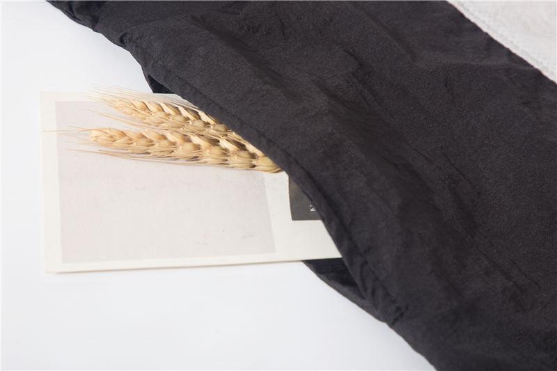 Moda Erkek Kadın Tasarımcı Rüzgarlık Fermuar Marka Kapüşonlu Ceketler Patchwork Flimsy Hafif Pilili Spor Koşu Mont Sunproof LJJ98309