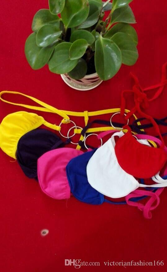Mens Thongs Open G Strings Male Fashion Super Sexy Gay Underwear Men's Hip Pouch Thong Cock Underpants For Sex